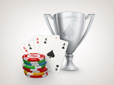 Poker Icon poker icon card chips trophy