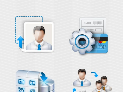 P5 Profile Icons icon profile setting payment upload ps