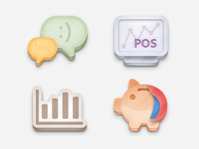 WTM App Icons icon flat app chat pos chart finance