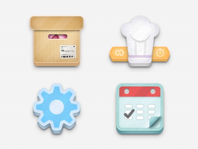 WTM App Icons 2 icon flat app inventory settings calendar kitchen
