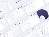 Quiz and questionnaire web app concept