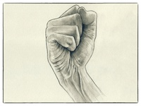 Fist Pencil Sketch