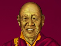 Chechoo Rinpoche Portrait