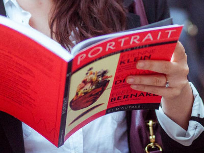 La revue du Portrait portrait magazine book layout