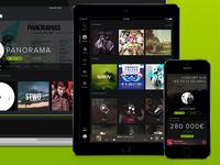 Spotify & Panorama