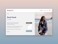 Beachy & Co. - Daily UI 012