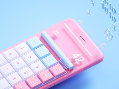 #004.Calculator ui calculator daily challenge