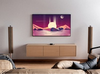 Preview for illustration vibe location sunrise mars illustator colours purple spacex photoshop adobe illustrator landscape preview livingroom nasa universe planet mockup tv sunset illustration