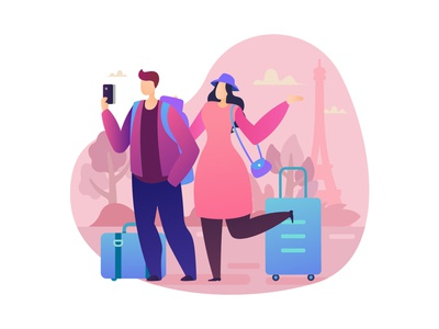 World Tourism Day Vector Illustration