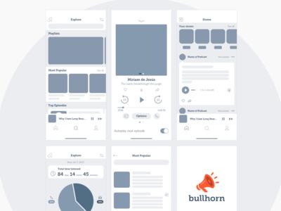 Prototyping mobile app