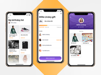 Gifty - Cost sharing app