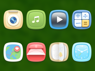 Some cute icons