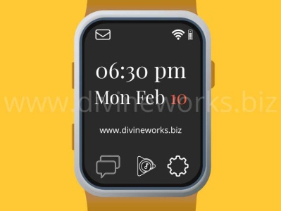 Smart Watch Vector Art smartwatch illustration smartwatch vector smartwatch vector art vector art vector graphic graphic design illustration vector illustration adobe illustrator
