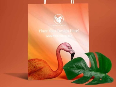 Free Paper Shopping Bag Mockup mockup psd psd mockup design adobe photoshop graphic design