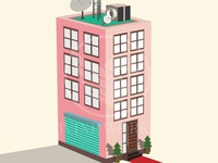 Vector Building Illustration