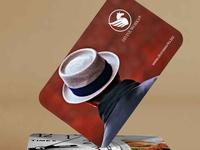 Free Branding Business Cards Mockup V
