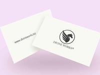 Floating Business Cards Mockup