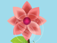 Download Free Adobe Illustrator Flower Vector Illustration