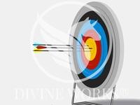 Target Board Vector Illustration