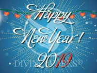 Free New Year Vector Illustration