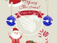 Christmas Vector Banner Illustration