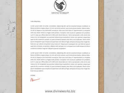 Letterhead On Clipboard Mockup