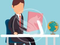 Free Vector Office Guy Illustration