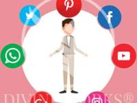 Free Adobe Illustrator Social Media Vector Illustration
