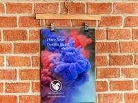 Wall Hanging Poster Mockup
