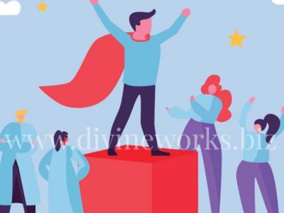 Free Adobe Illustrator Business Leader Vector Illustration