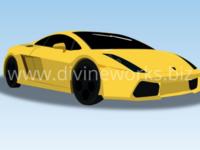 Free Lamborghini Vector Drawing