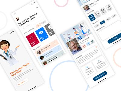 DocApp mobile app design