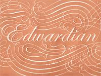 ITC Edwardian Script john passafiume graphite lettering script