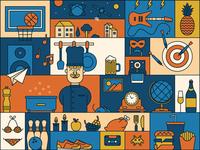 Mosaic Kitchen