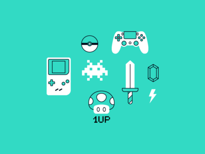Video-game icons