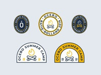 Summer Camp Badges
