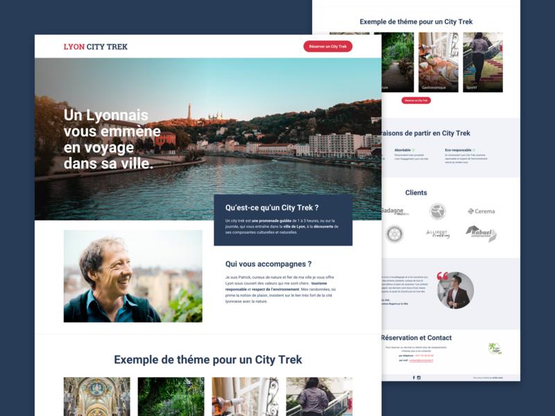 Lyon City Trek onepage
