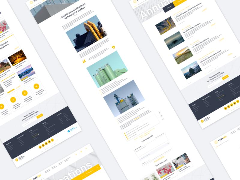 Economic intelligence platform - UX/UI Design