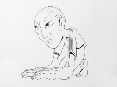 Barcelona Vibes line animation south soccer charachter charachter design illustration pencil lineart