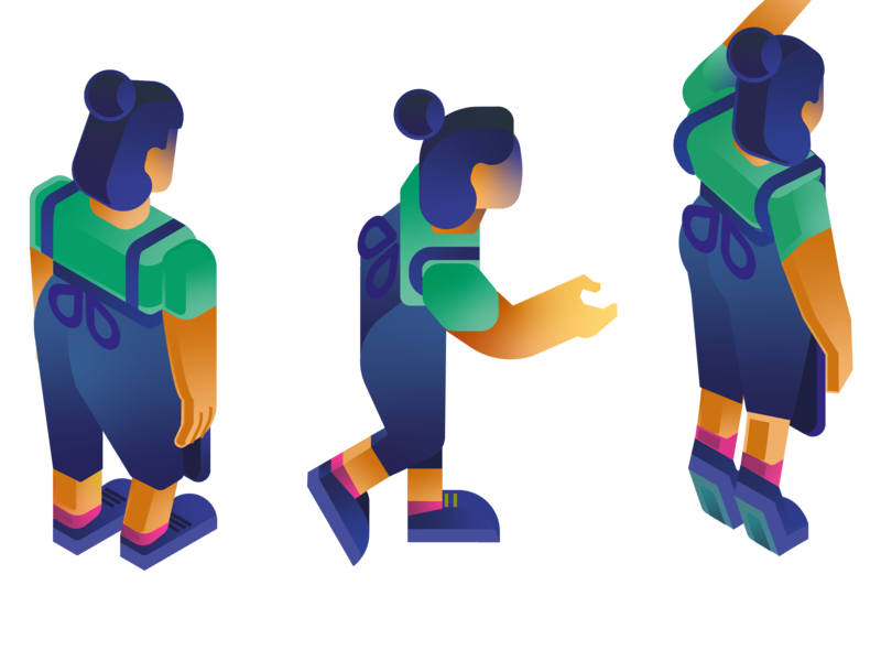 Barista character sheet character design character art character editroial bar chart gamedesign game art vector design illustration