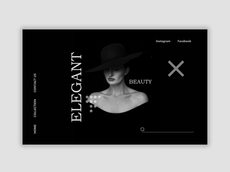 Fashion and Beauty UI Design