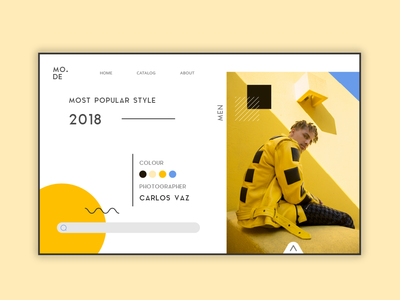 Fashion Style UI Design