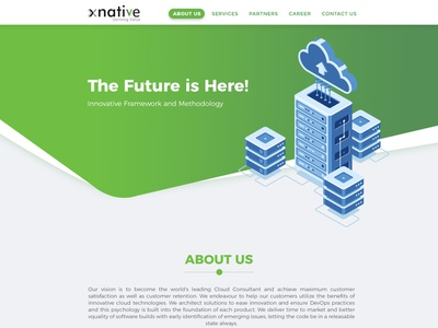 xnative web template website design web design colors logo ux ui gradients design