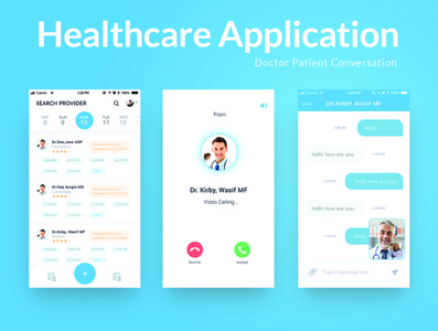 Healthcare Application medical app ux ui application