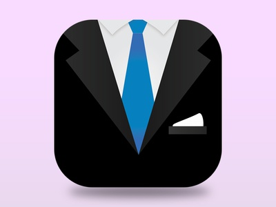 Suit icon by fahad amjad dribbble publicscrutiny Gallery