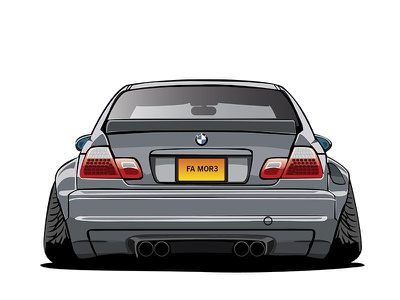 BMW color combinations bmw cars illustration