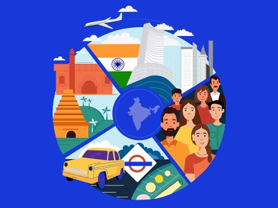Regions india adobe illustrator art design illustration ill graphic design