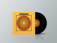 Dhrama Vinyl Record Mockup