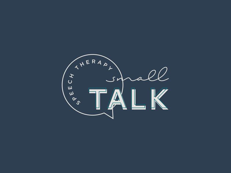 Logo Design for Speech Therapist logo design concept logo feminine graphic design brand designer logo design branding brand identity brand design brand