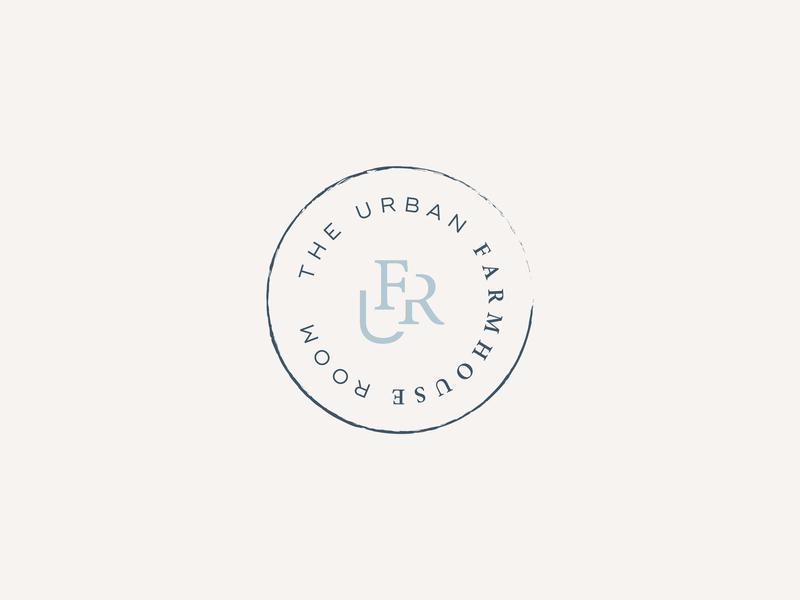 Submark Logo Design | The Urban Farmhouse Room brand designer logo design branding design logo logo design concept submark brand identity brand design brand